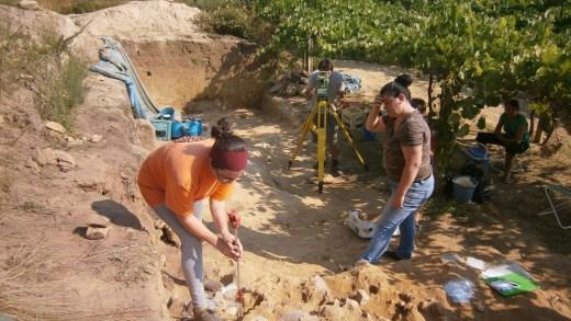 Traballos arqueolóxicos no xacemento de O Cabrón, en Arbo / ocabron.wordpress.com