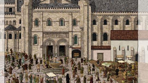 Documental: A peregrinación a Compostela vista desde Francia