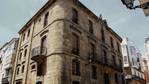O xuíz só ve delitos leves na ocupación da Casa Cornide de 2017