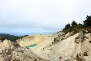 Situación na que se atopa parte do Monte Neme polas actividades mineiras / Íñigo Mouzo