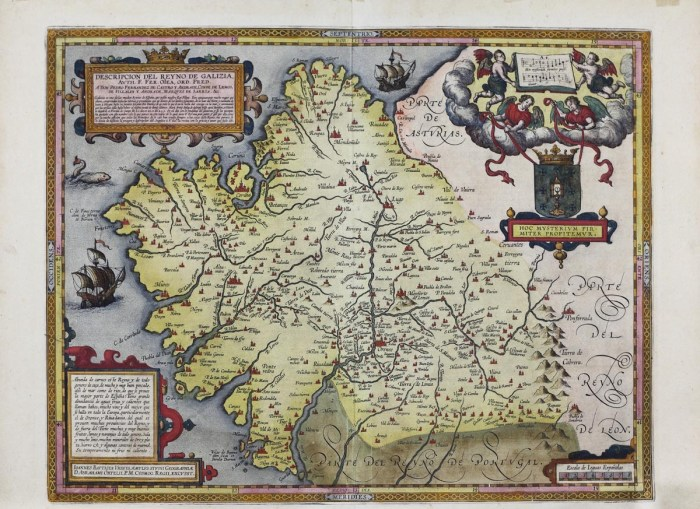 Descrición do Reino de Galizia de Hernando de Ojea (1603) / Duvi