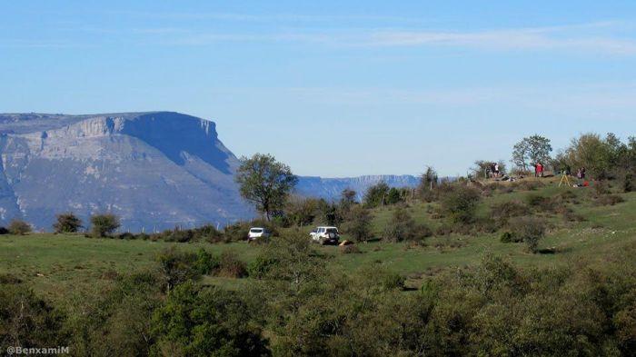 Monte de San Pedro, unha das liñas da fronte de Euskadi na Guerra Civil / Xurxo Ayán