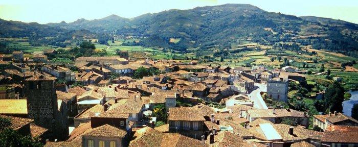 Vista de Allariz desde o castelo / Allariz.gal