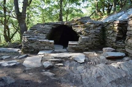Imaxe do forno da sauna castrexa do Castañoso, na Fonsagrada / Mariña Patrimonio