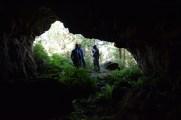 Cova con pinturas rupestres en Baleira / Mariña Patrimonio