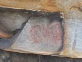 Pinturas rupestres de Val de Junco, en Portugal, semellantes ás aparecidas nunha cova en Baleira / Xabier Moure