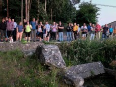 Visita o Petroglifo da Pedra da Nave / Foto Concello de Ames