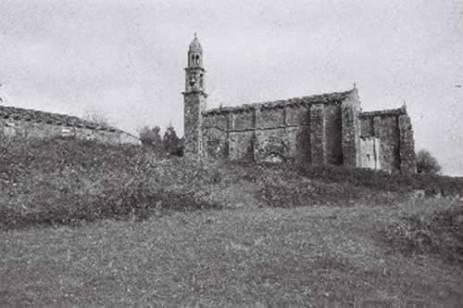 Zona escavación en primeiro plano / foto cedida por AXA Arqueoloxía