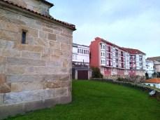 Edificios ó redor de Santa María da Atalaia / foto HdG