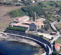 Monasterio de Oia, foto aérea / foto Saruska CCBy Wikimedia