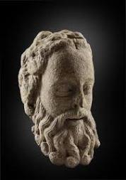Cabeza barbada na exposición do Museo do Prado / foto cultura.gal