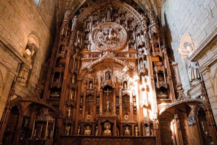 Panteón Real ou Capela das Reliquias. Catedral de Santiago. Foto Xacopedia
