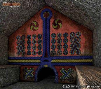 Sauna castrexa en 3D visión preliminar / foto Lanóbrigan