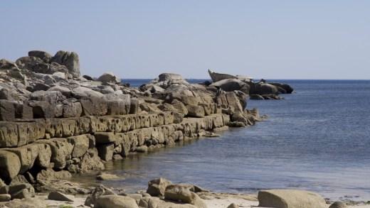 """Está en perigo o chamado """"peirao fenicio"""" da Covasa en Ribeira?"""