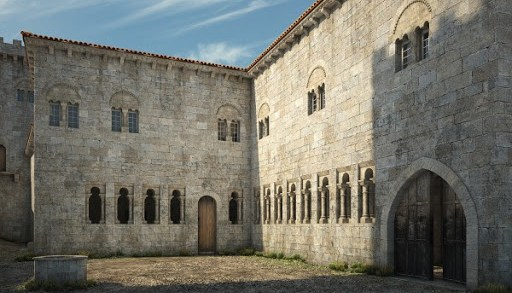 Descobren excepcionais restos medievais nas obras do Museo Arqueolóxico de Ourense