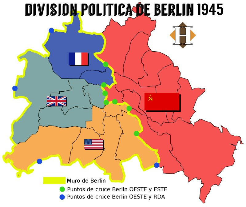 Division politica Berlin 1945