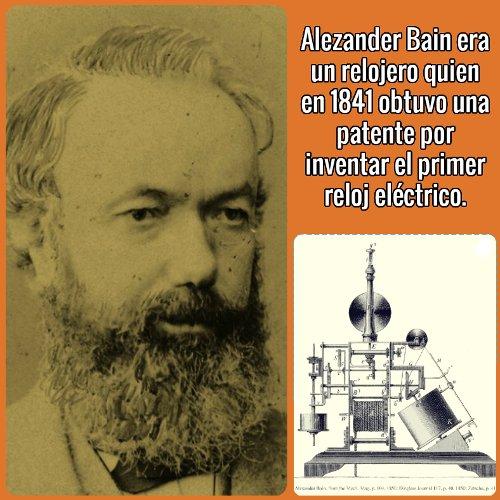 Historia del fax - Alexander Bain inventor