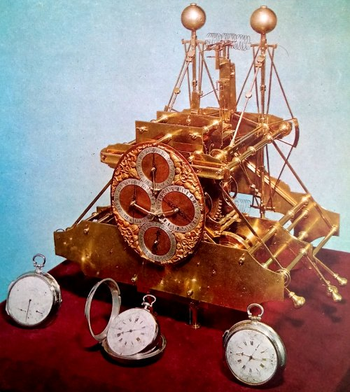 Primer cronómetro marino