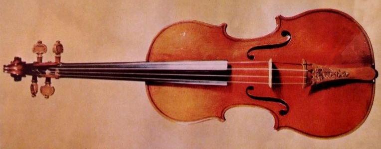 Violín construido por Antonio Stradivarius, el fabricante mas famoso del mundo. En 1704 produjo un instrumento que unía a la dulzura tonal una gran potencia y sonoridad.