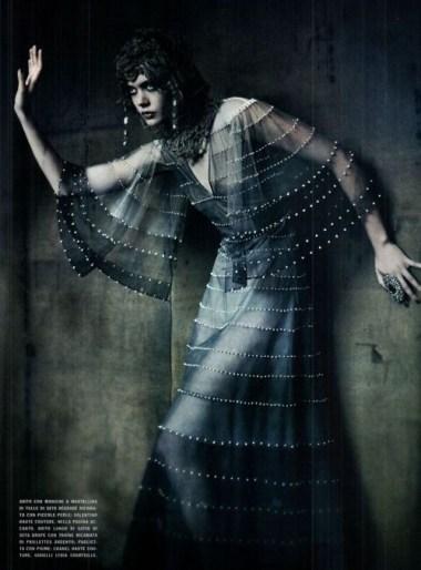 20's silver screen cleopatra : vogue italia