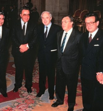 Los 7 principales artífices de la Constitución española de 1978
