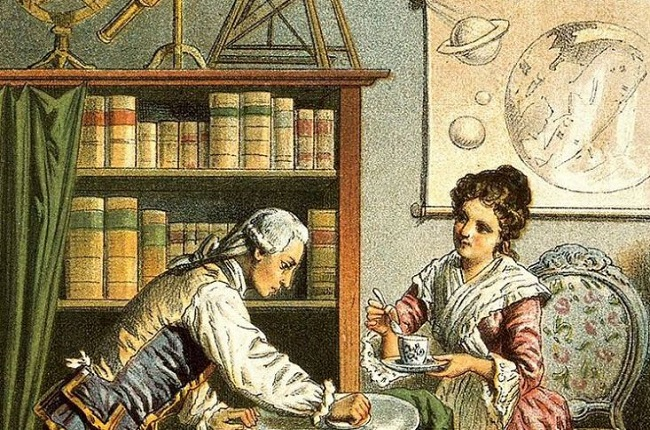 William y Caroline Herschel La Vanguardia