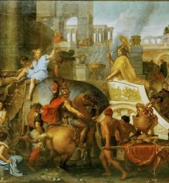 Entrada triunfal de Alejandro Magno en Babilonia, de Charles Le Brun