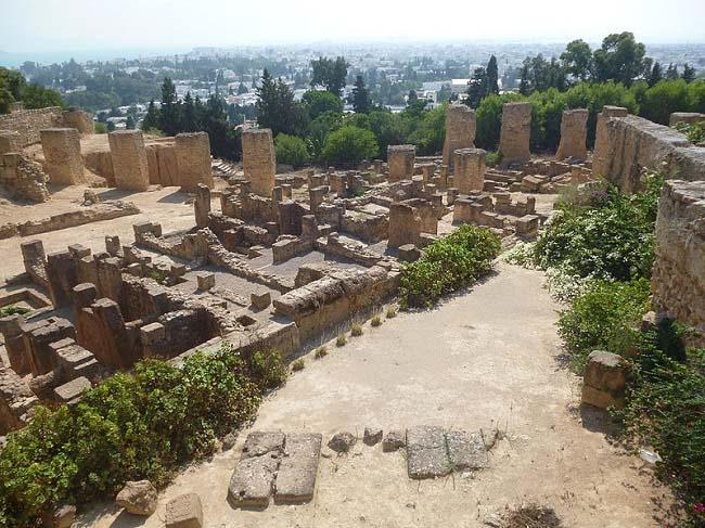 Estado actual del yacimiento arqueológico de Cartago, foco de las consecuencias de la Primera Guerra Púnica