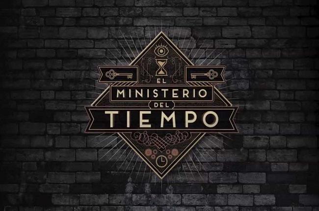 """Logotipo de la serie """"El Ministerio del Tiempo"""""""