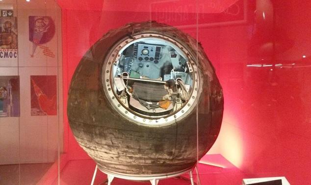 Fotografía del Vostok 6, nave en la que viajó al espacio Valentina Tereshkova