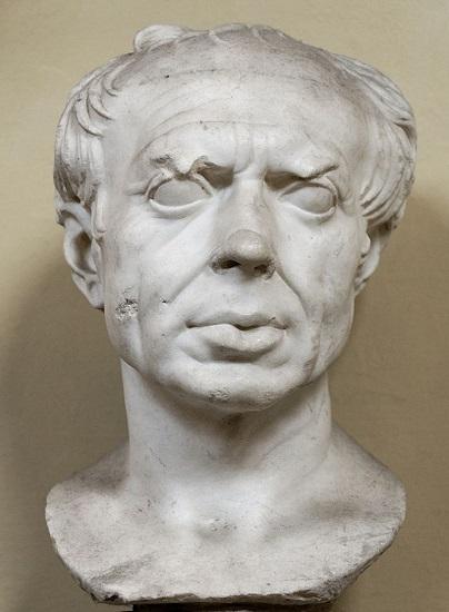 Busto de Cayo Mario, conservado actualmente en los Museos Vaticanos