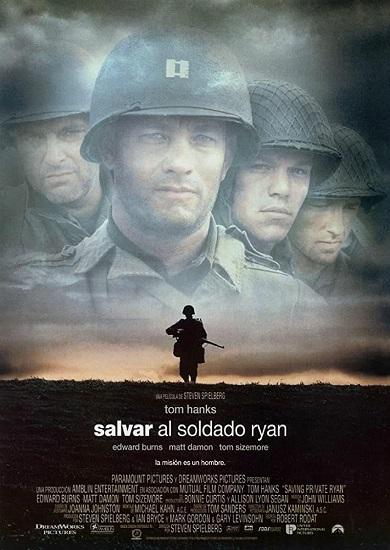Cartel de Salvar al soldado Ryan