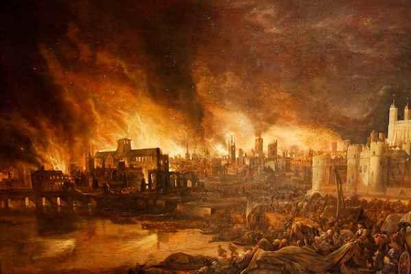 Resultado de imagen para Fotos de el incendio del Palacio de Westminster