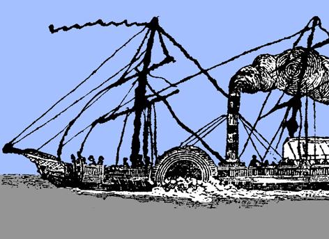 Història de Catalunya. Vaixell vapor