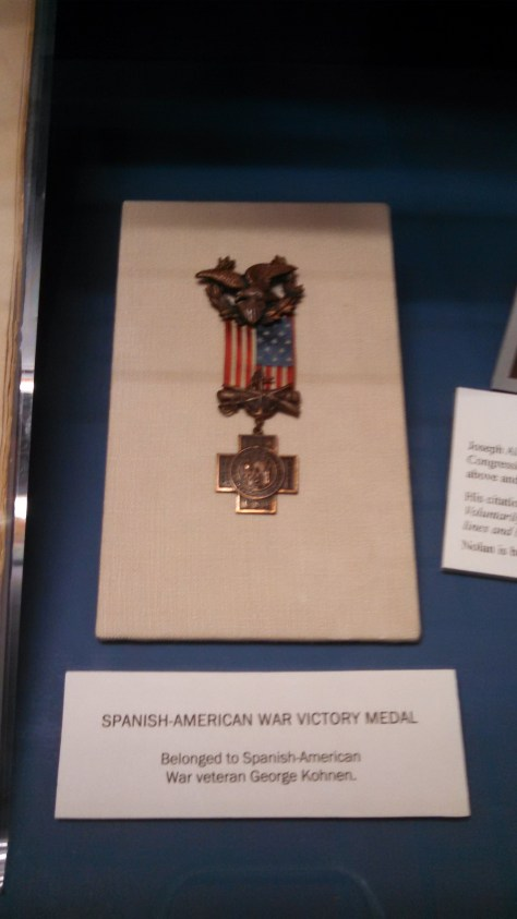 Spanish American War Victory Medal