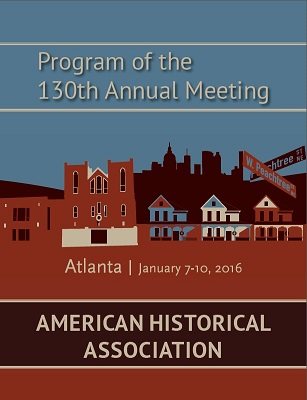 2016 annual meeting program cover