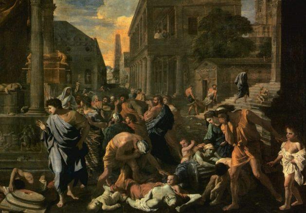 Die Pest von Nicolas Poussin