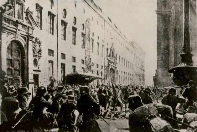 Illustration aus der Nazi Zeitschrift Der Stürmer