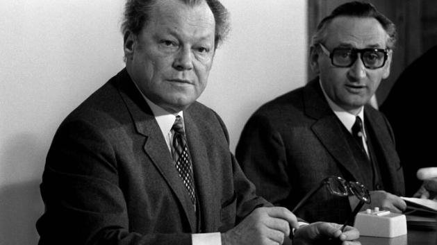 Willy Brandt und Egon Bahr