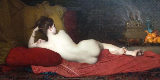 Odalisque. von Jules Joseph Lefebvre