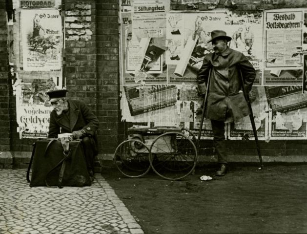 Bettler in Hannover - Walter Ballhause