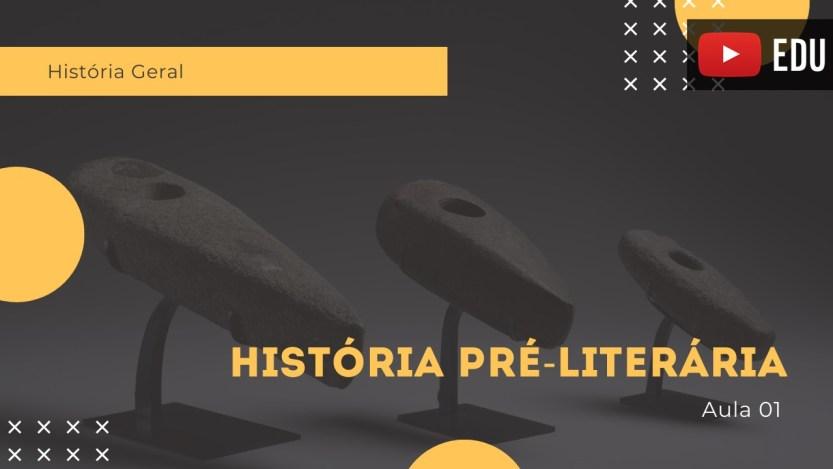 história pré-literária