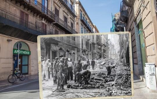 75 anni fa: le prime bombe americane su Palermo