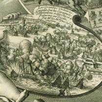 Les glorieux projets et les ordres admirables de Louis le grand heureusement exécutes en Flandre, et dans la Sicile, en la campagne de 1676.de Larmessin, Delineauit, et Sculp. Paris, chez pierre bertrand, - rue saint jacques a la pomme d'or, 1677