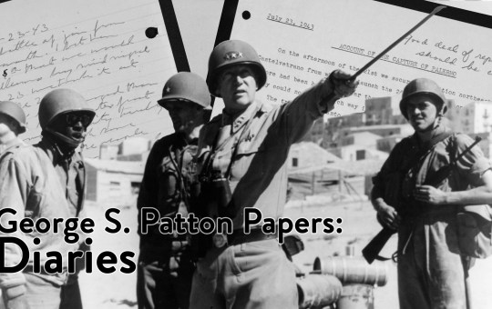 George S. Patton Papers: Diaries