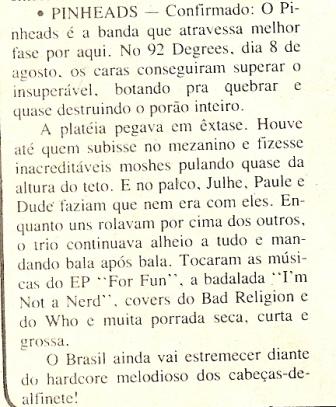 Recorte da sessão Acordes da Gazeta do Povo