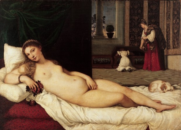 Ticiano, a Vénus de Urbino