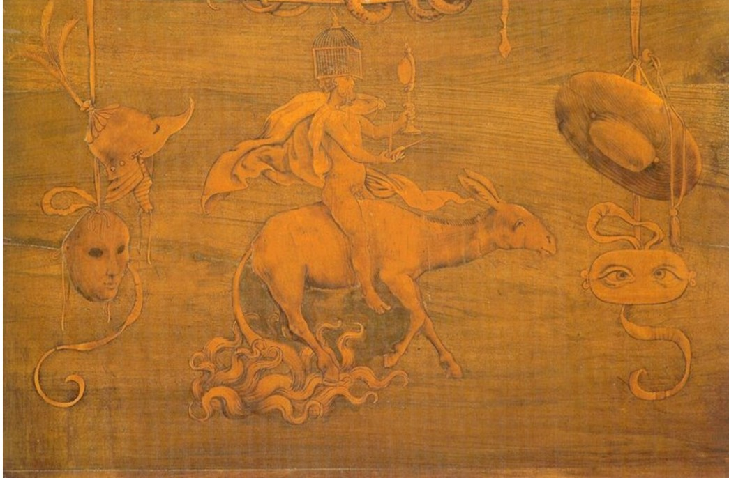 Lorenzo Lotto, entarsia, Bérgamo