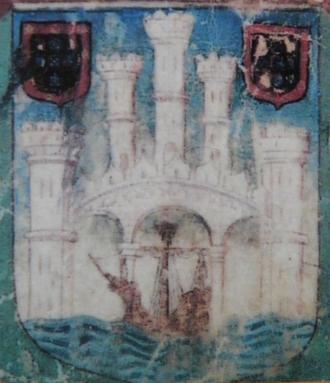 Primeiras armas conhecidas de Tavira no foral manuelino de 1504