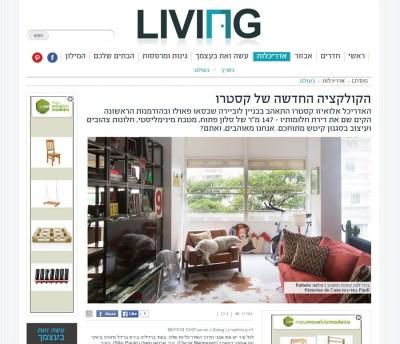 Publicação no site israelense Mako